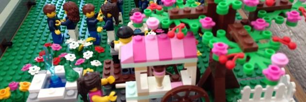 An Economic Development Plan for Little Brick Township: The LEGO Book Launch