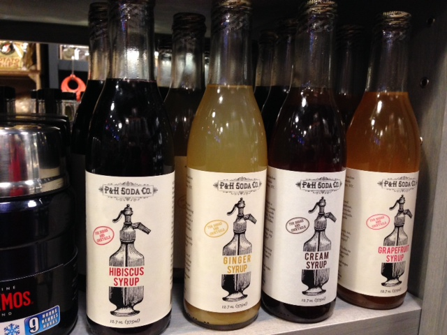 The machine has unleashed the creativity of artisanal soda makers, with some of the syrups on display at the Brooklyn Kitchen.