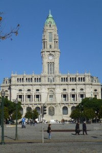 City Hall in Porto is one of many distinguished buildings from the early 20th century.