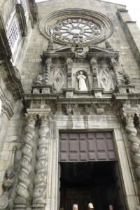 Exterior of the Igreja São Francisco.