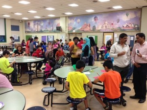The annual Multicultural Dinner brings students, staff, and families together.