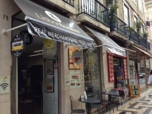 A new home for Nata on Rua de Prata downtown near the riverfront.