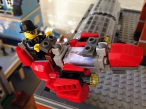 Lego Fernando Pessoa on the Book Rocket, powered by Mensagem.