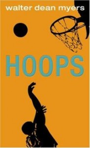 Published in 1981, Hoops was one of Myers's earliest YA novels.