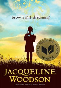 Brown Girl Dreaming with its brand-new award sticker!