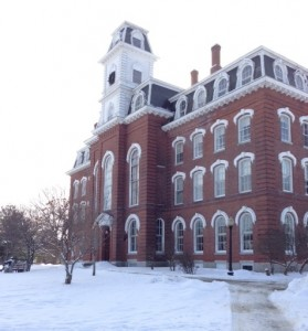 VCFA in winter: The cold, cruel world is what we get when we leave here.