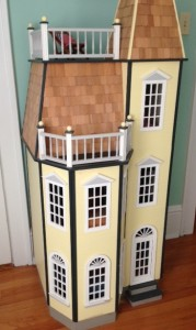 A dollhouse I built for my daughter. Maybe I should have gone for Etsy rather than a publisher.
