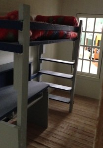 My favorite piece of furniture was the loft bed I made.