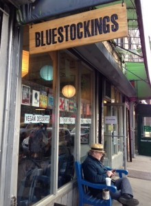 Bluestockings Books, at 172 Allen St. on the Lower East Side, will host my book launch party.