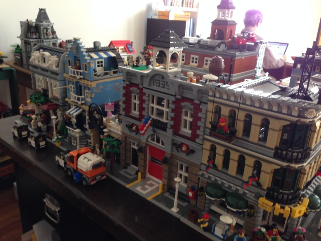 The back side of Little Brick Township.