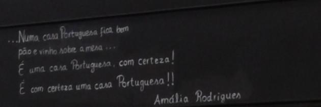 Richard Lachmann's 2015 Dining in Lisbon