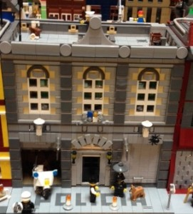 Smallville's Police Station is based on the Modular Fire Station.