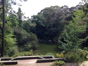 The gardens at the Serralves museum in Porto.