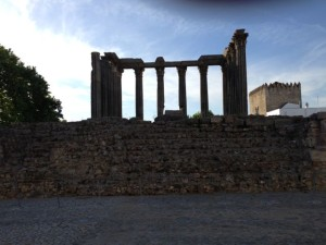 A principal attraction of Evora is the Roman Temple of the Goddess Diana.
