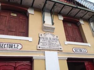 The stadium in Vila Franca de Xira was built more than a hundred years ago.
