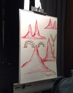 What Roger Mello drew.