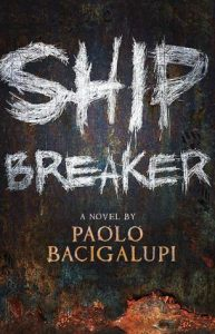 Paolo Bacigalupi's Ship Breaker exemplifies the dystopian novel of environmental degradation and its consequences.