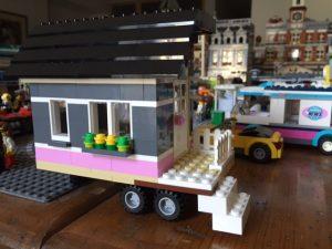 Inspired by HGTV's Tiny House Hunters, I made my own Lego Tiny House.